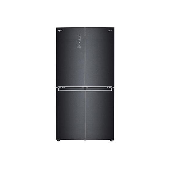 DIOS 더블매직스페이스 냉장고 맨해튼 미드나잇 870L