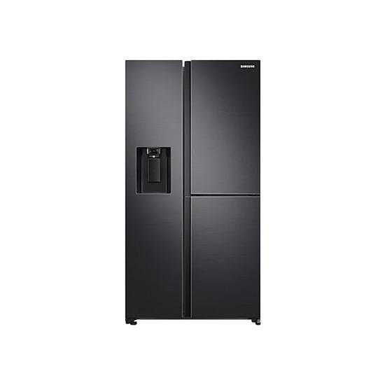 양문형 3도어 얼음정수기 냉장고 805L 블랙 리얼메탈