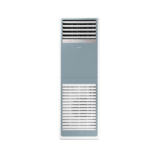 비스포크 스탠드형 인버터 중대형 냉난방기 30평형 블루 220V
