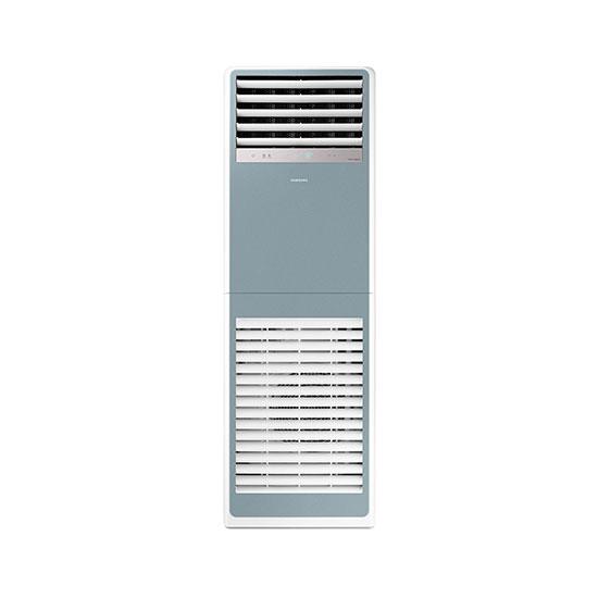 비스포크 스탠드형 인버터 중대형 냉난방기 40평형 블루 380V