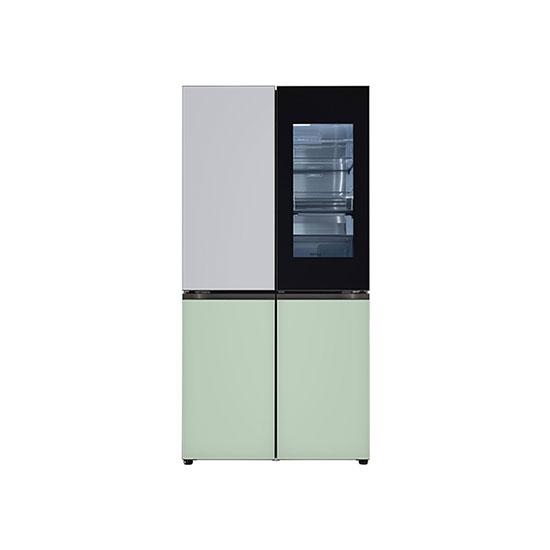오브제컬렉션 노크온 매직스페이스 냉장고 870L 실버민트