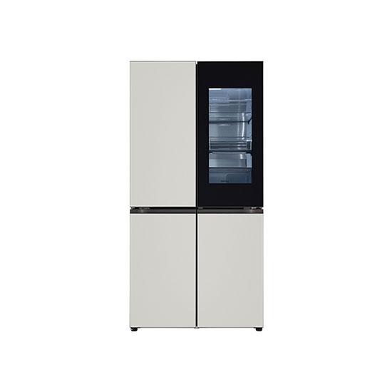 오브제컬렉션 노크온 매직스페이스 냉장고 870L 그레이그레이