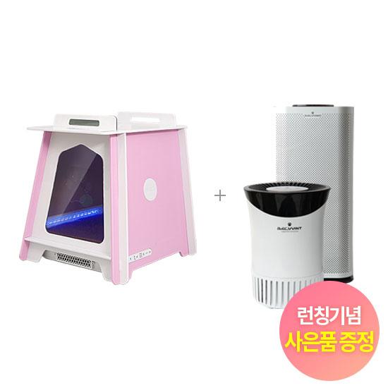 [결합3종] 펫케어룸 핑크 + 펫케어 공기청정기(15평+5평)