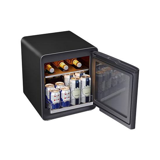 비스포크 큐브냉장고 25L+멀티 수납존 차콜