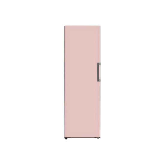 오브제컬렉션 컨버터블 냉동전용고 321L 핑크