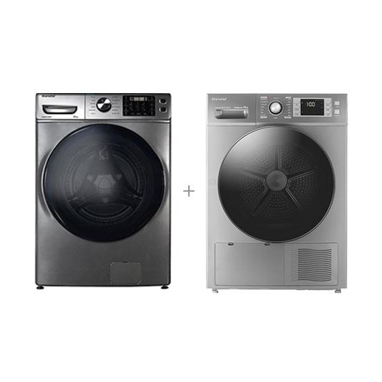 클라윈드 드럼세탁기 23kg+클라윈드 히트펌프 건조기 10kg